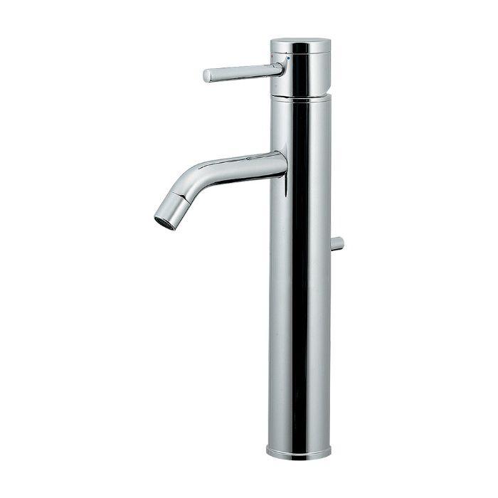 183-285 洗面水栓 シングルレバー混合栓(ミドル)【ワンホール】