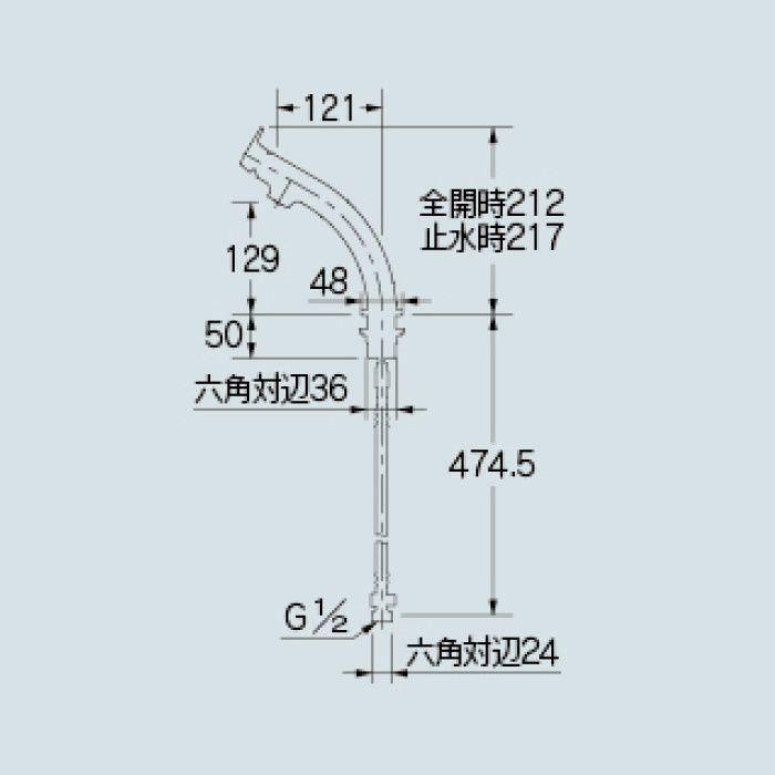 183-152-D 洗面水栓 シングルレバー混合栓 マットブラック