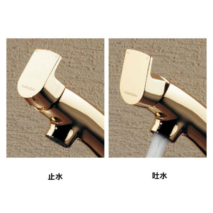 183-152-D 洗面水栓 シングルレバー混合栓 マットブラック【ワンホール】