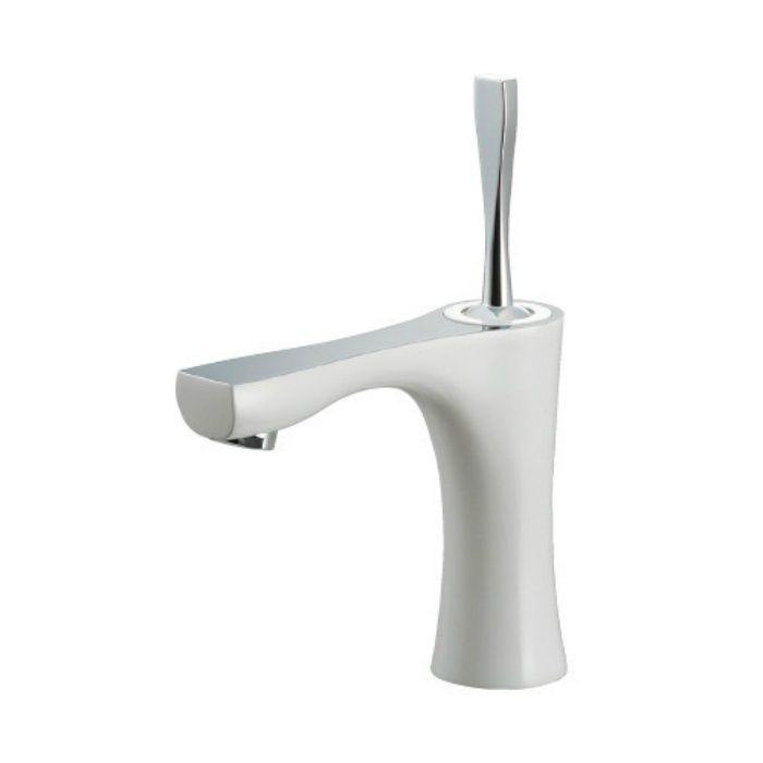 183-231-W 洗面水栓 シングルレバー混合栓 ホワイト