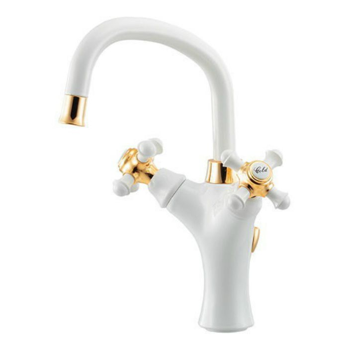 150-451 洗面水栓 2ハンドル混合栓