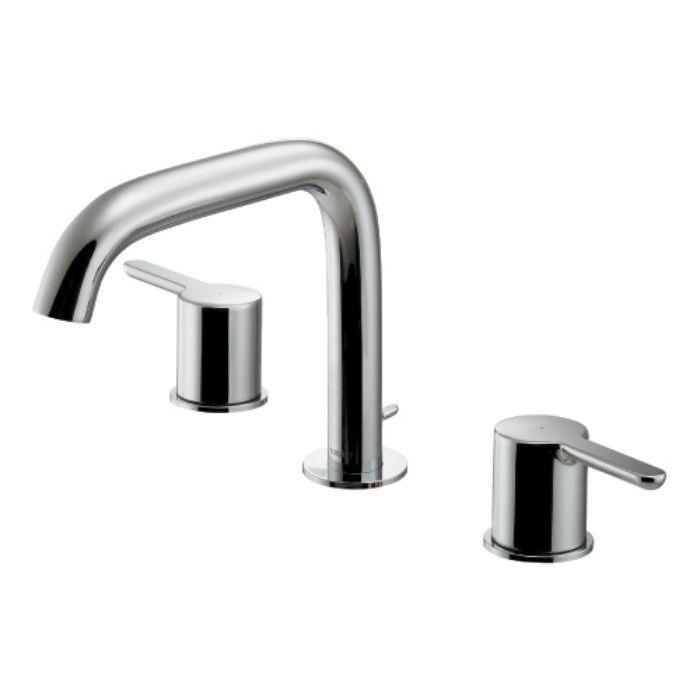 #DU-C110600060 洗面水栓 2ハンドル混合栓