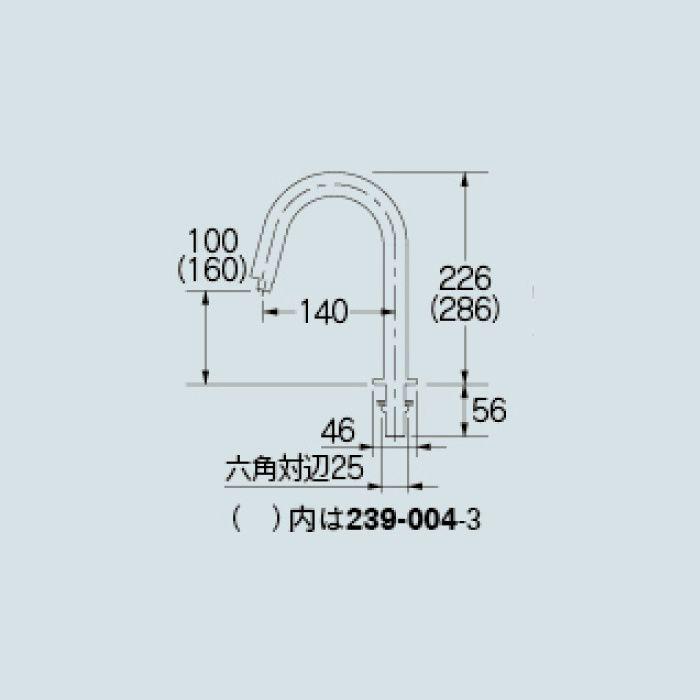 【入荷待ち】239-004-1 洗面水栓 小型電気温水器(センサー水栓つき)