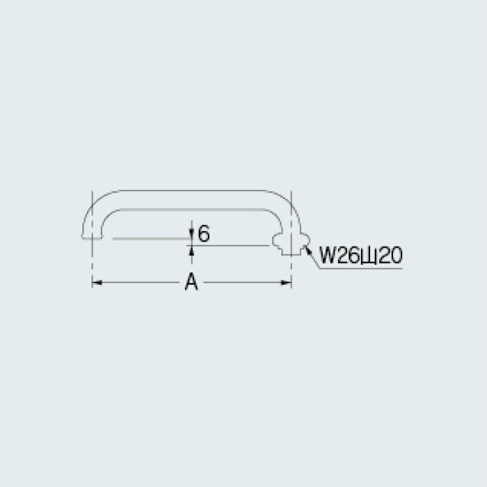775-22-170 洗面水栓 Uパイプ