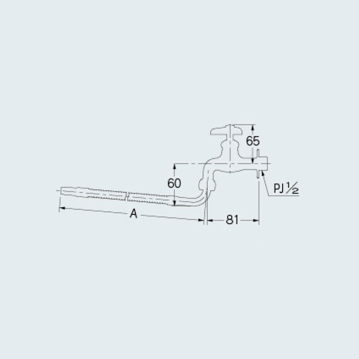 706-008-13×500 厨房水栓 厨房用自在水栓