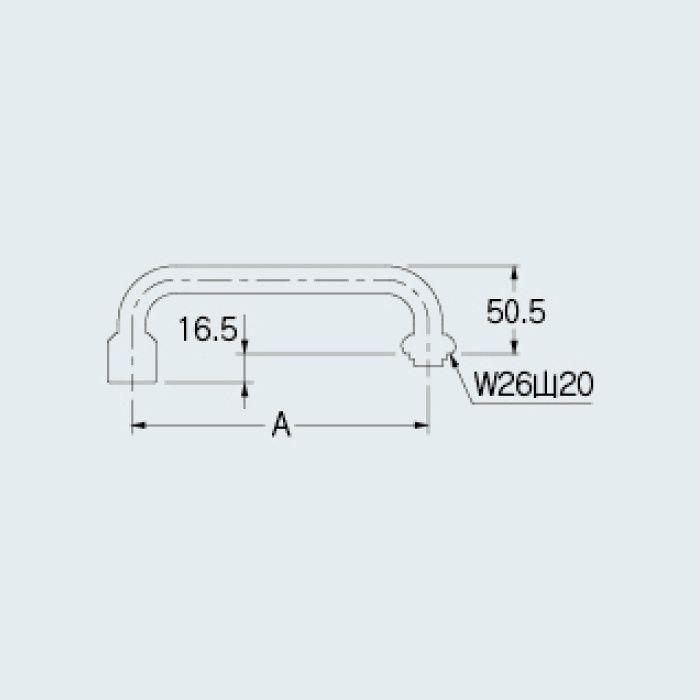 775-28-300 厨房水栓 泡沫Uパイプ