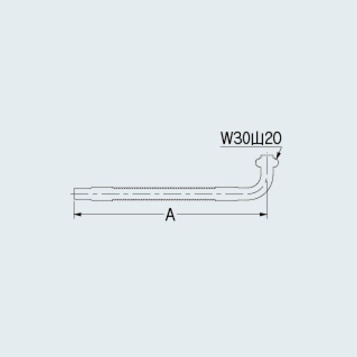 795-543-300 厨房水栓 フレキノズル(W30山20用)