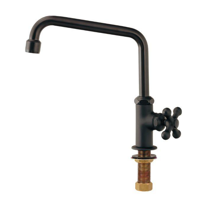 700-768-D 一般水栓 泡沫立形自在水栓 マットブラック