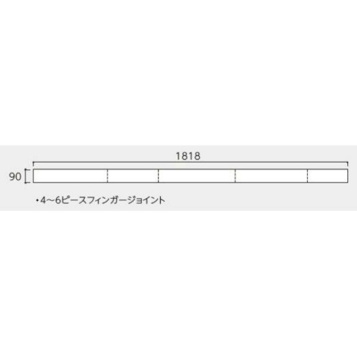 OARD-NC プレミアムク オーク・クリア 床暖房用 クリアナチュラル塗装/低グロス