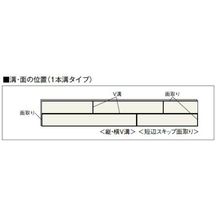 JRF1YS1-EM ラスティック フェイス リッチ・Jベース 1本溝タイプ 上履用 12mm厚 エルム