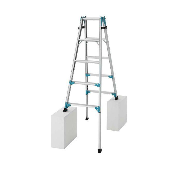 RYX1.0-15 脚部伸縮式 はしご兼用脚立