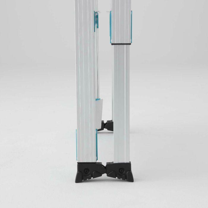 RYE1.0-15 階段用 はしご兼用脚立 脚部伸縮式