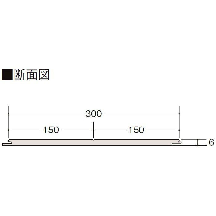 LZYPRW6BJ ハーモニアスリフォーム6(床暖房非対応) 木目タイプ[150] クリエペール メープル柄 横溝あり