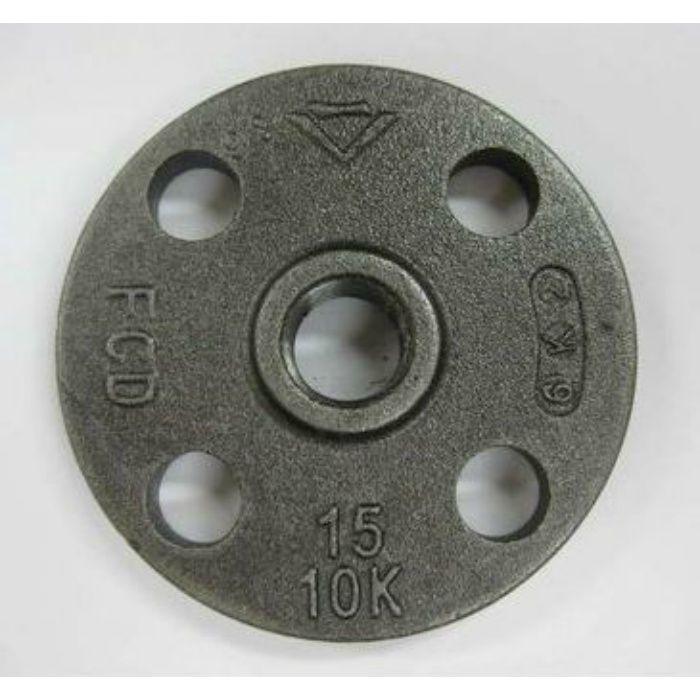 10KFC-F 黒 J10K ネジ込フランジ FCD 25A