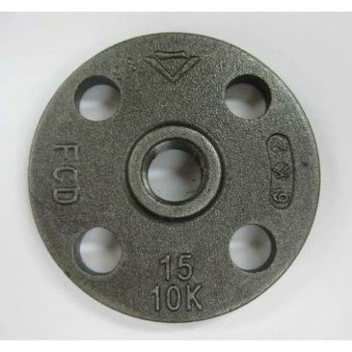 10KFC-F 黒 J10K ネジ込フランジ FCD 80A
