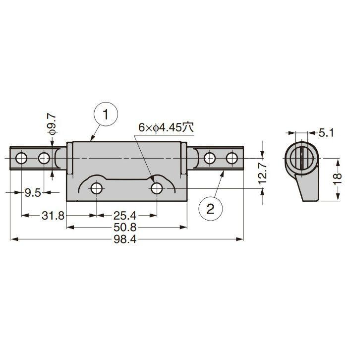 REELL トルクヒンジ PHK型 PHK11-512-55