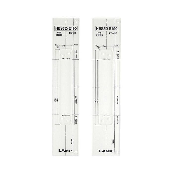 ランプ印 加工治具 HES3D-TMP型 三次元調整機能付隠し丁番 HES3D型用 クリアー HES3D-E190-TMP