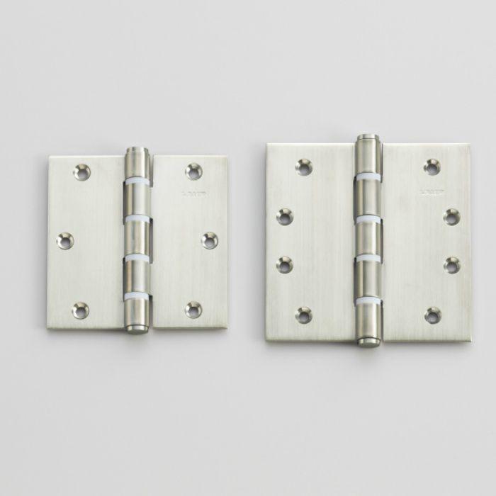 ランプ印 ステンレス鋼製平儀星丁番 3535WSS