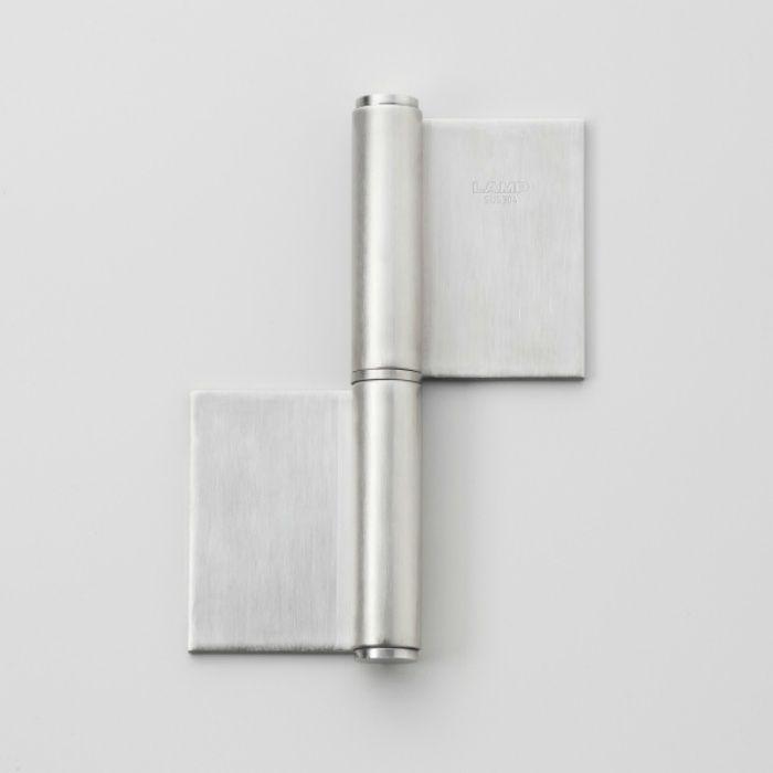 ランプ印 オールステンレス鋼製重量用旗丁番 HG-LSH型 HG-LSH-154R