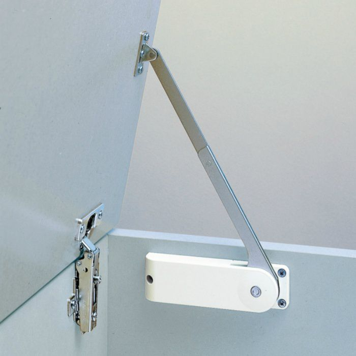 ランプ印 セルフオープンステー HDS-20S型 2本使い用 HDS-20S-HL-WT