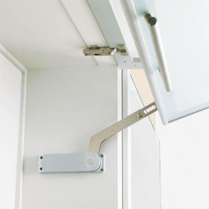 ランプ印 水平折戸ユニット HBFN型 オフセットヒンジ HBFN-CH