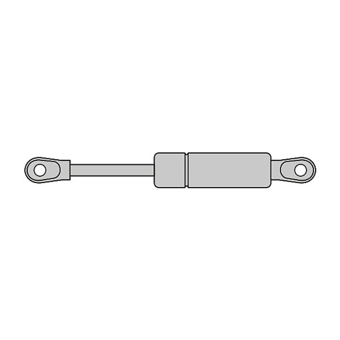STABILUS ガススプリング リフト・オー・マット 標準在庫品 樹脂製アイレット仕様 LOM-2335LL