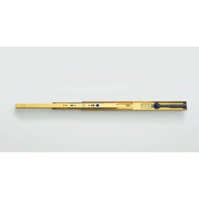 ランプ印 スライドレール 3670 セルフ&ソフトクロージング機構付 金色めっき仕様 3670-400GA
