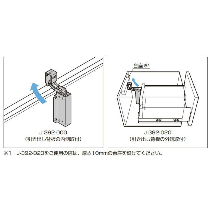 DICTATOR ステンレス鋼製 小型ショックアブソーバ J-392型 J-392-000