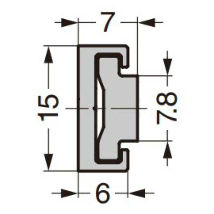 ランプ印 ミニガイドレール MRS15型 MRS15-100