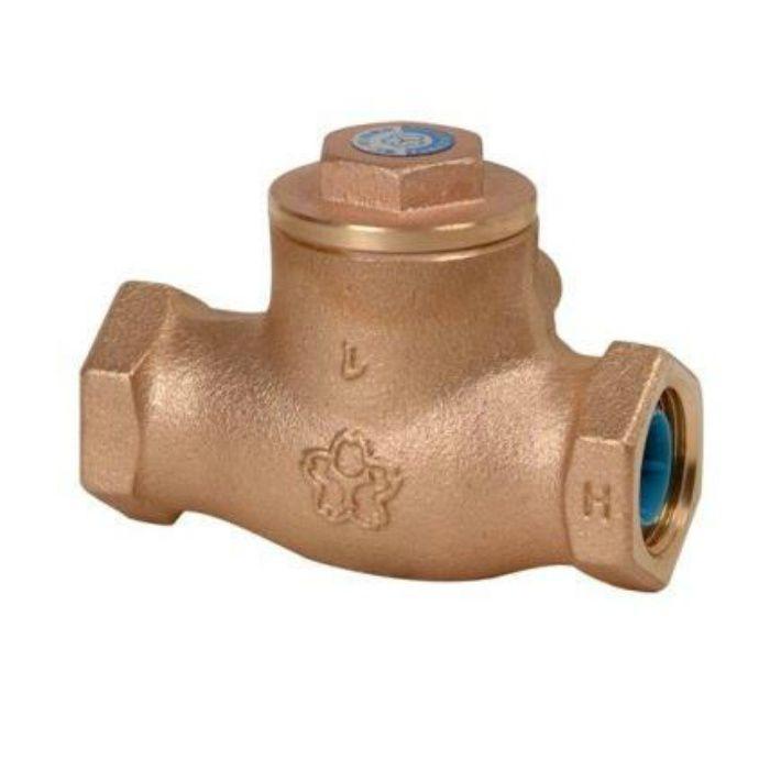 10C-CN 鉛カット 給水用コアリング 青銅スイングチェッキ弁 10K 32A