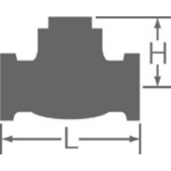 10C-CN 鉛カット 給水用コアリング 青銅スイングチェッキ弁 10K 50A