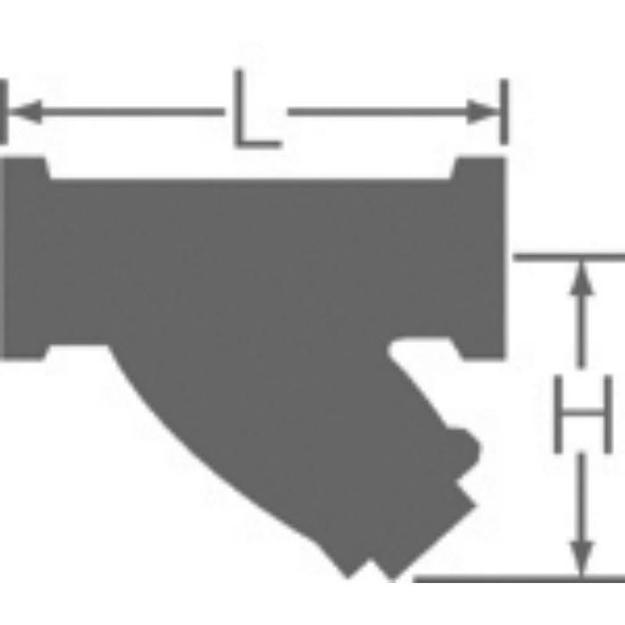 10YT-CN 鉛カット 給水用コアリング 青銅Yストレーナ 10K 50A
