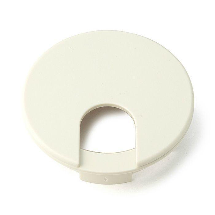 ランプ印 配線孔キャップ LS型 片側はめ込みタイプPAT ホワイト LS60S-WT