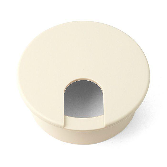 ランプ印 配線孔キャップ LS型 片側はめ込みタイプPAT ベージュ LS76S-BE