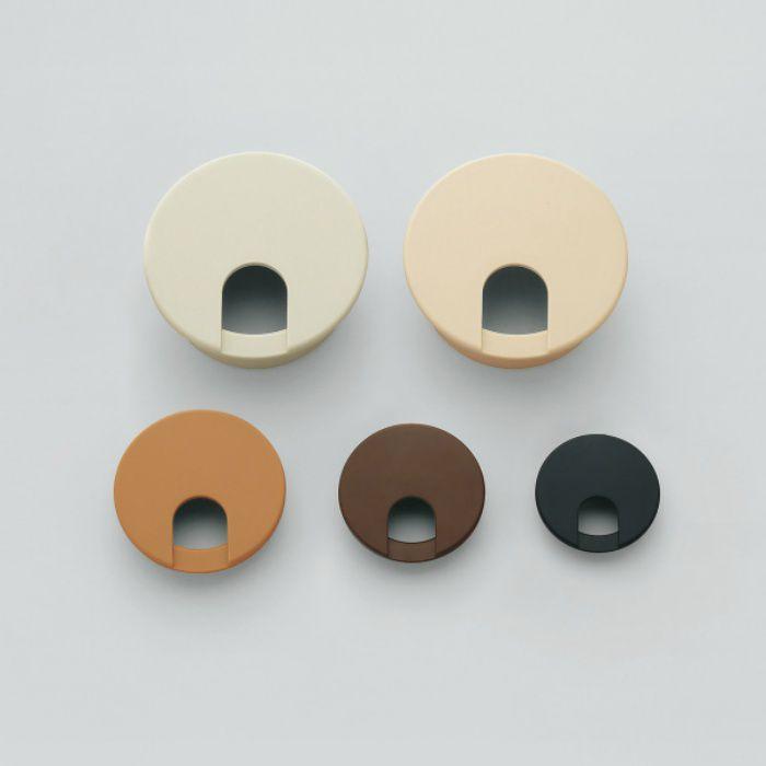 ランプ印 配線孔キャップ LS型 片側はめ込みタイプPAT ベージュ LS50S-BE