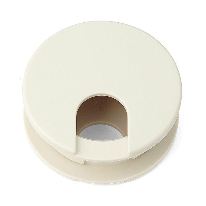 ランプ印 配線孔キャップLS型 挟み込みタイプPAT ベージュ LS60BE
