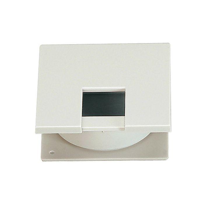 ランプ印 配線孔キャップ LSU60K型挟み込みタイプPAT サイズ□60薄型タイプ ホワイト LSU60K-WT