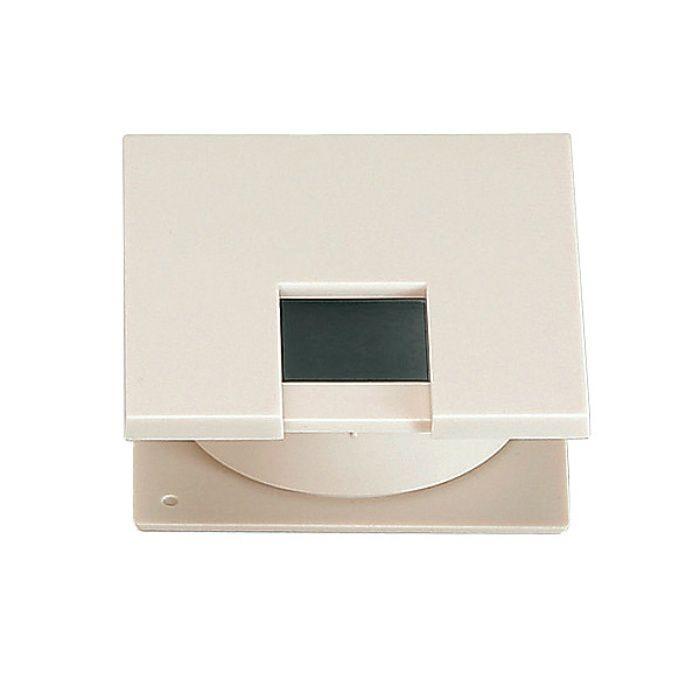 ランプ印 角型配線孔キャップ LS60K型挟み込みタイプPAT サイズ□60 ベージュ LS60K-BE