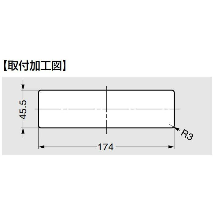 配線孔キャップ PC2000Z180型 ホワイト PC2000Z180E359