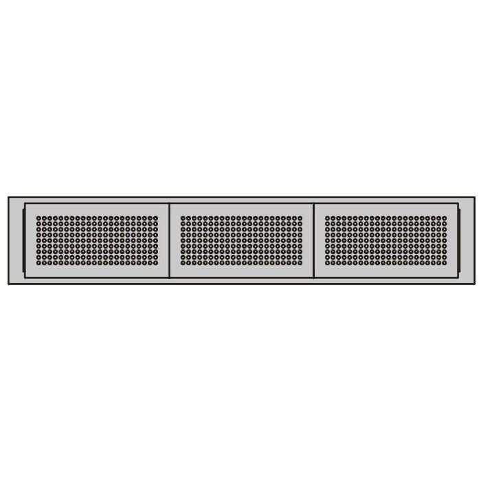 ランプ印 プラスチック製空気孔 APK-K型 配線孔機能付きPAT 空気孔・配線孔パネル+フレームセット ホワイト APK-KHA226P-WT