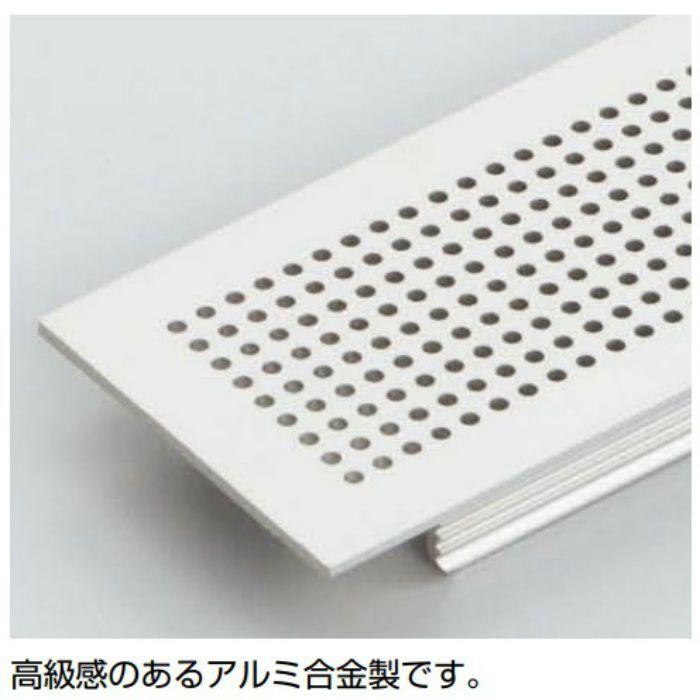 ランプ印 アルミ合金製空気孔 APK-K型PAT シルバー APK-K400AW-SL