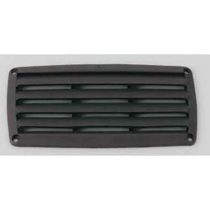 プラスチック製 空気孔 48080型 ブラック 480802