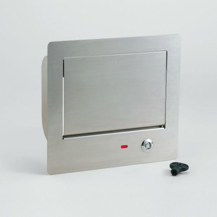 ランプ印 ダンパー付屑入投入口 鍵付PAT AZ-GD230L-HL