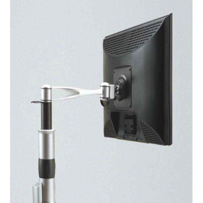 モニターアーム LA2-3型 PAT.P 配線孔タイプ シルバー LA2-31