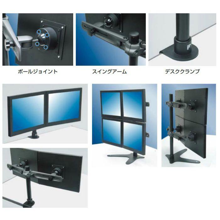 Master Group モニターアーム AMM型 PAT.P ブラック AMM321