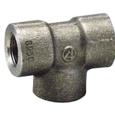 ytk-00260 S25C ネジ込 高圧 チーズ 50A