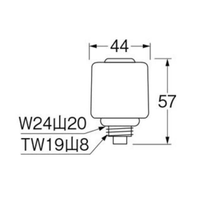PR19A-13 給水栓上部