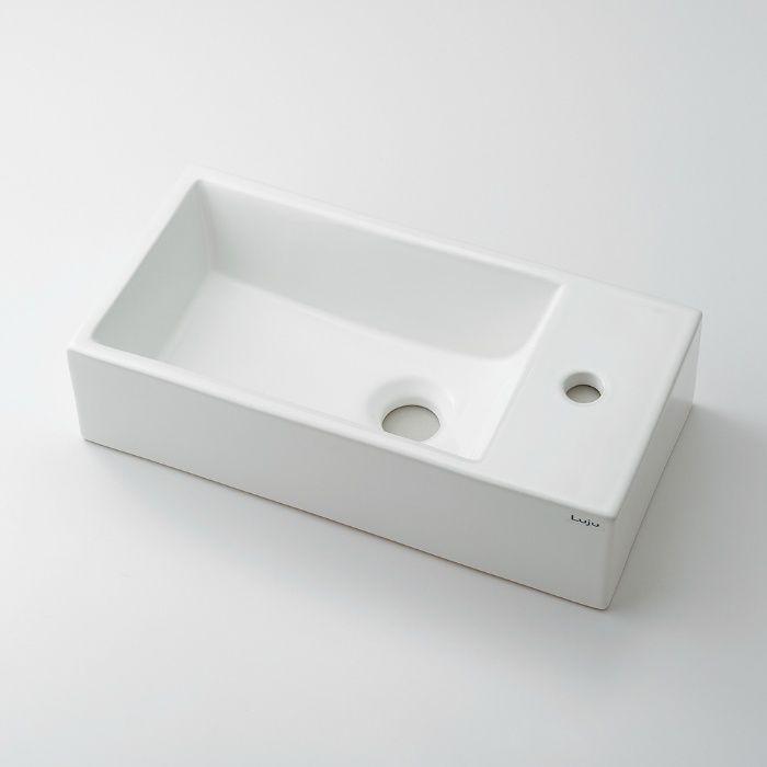 493-069 角型手洗器(キャビネットつき)