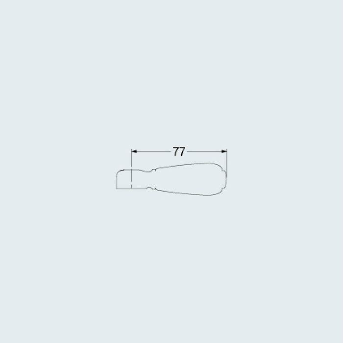 7936G 水栓本体部品 カラーハンドル(プリム) グリーン