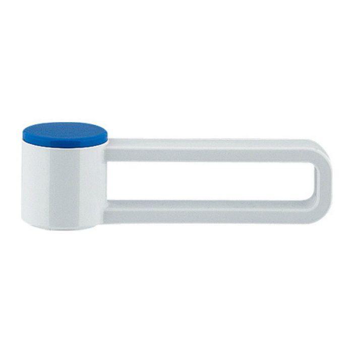 793-615-W 水栓本体部品 節水ハンドル(スキニー) ホワイト